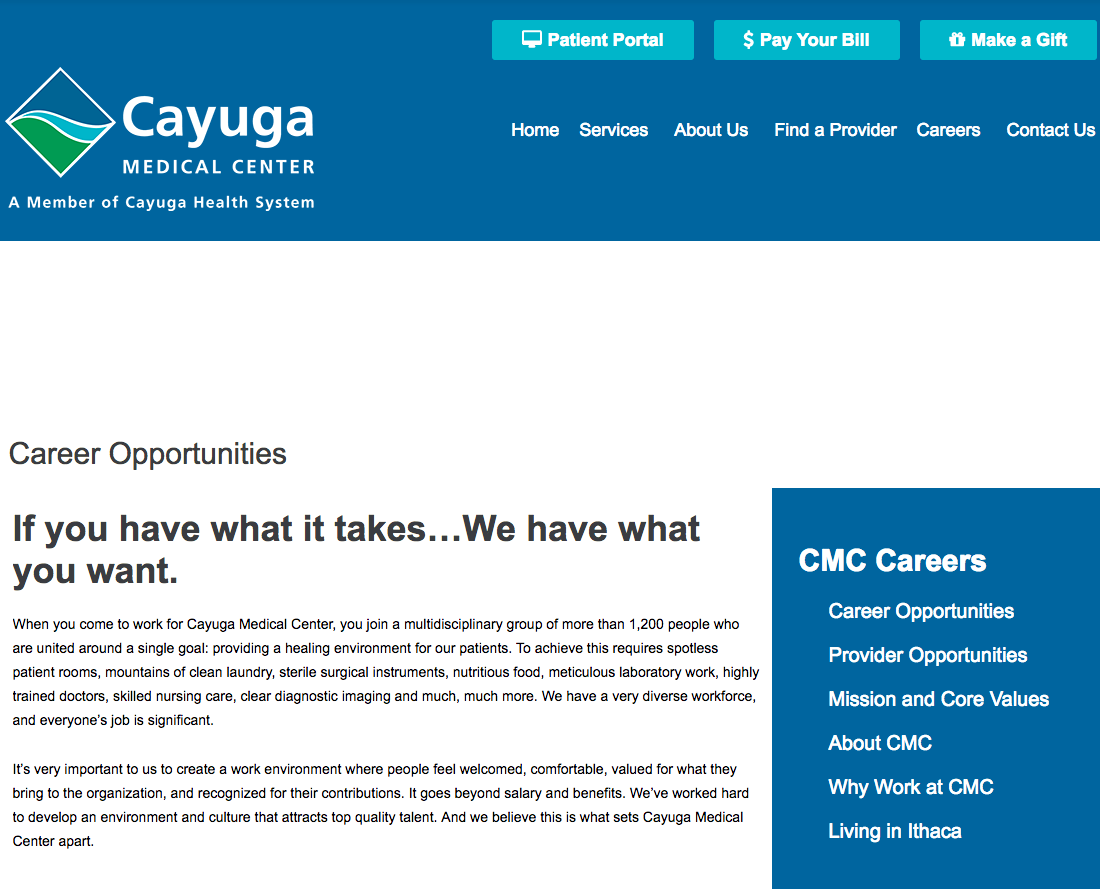 Cayuga Medical Center